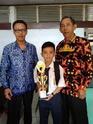 SMP Negeri 5 Bandar Lampung Sabet Juara 3 Karate O2SN Kota Bandar Lampung