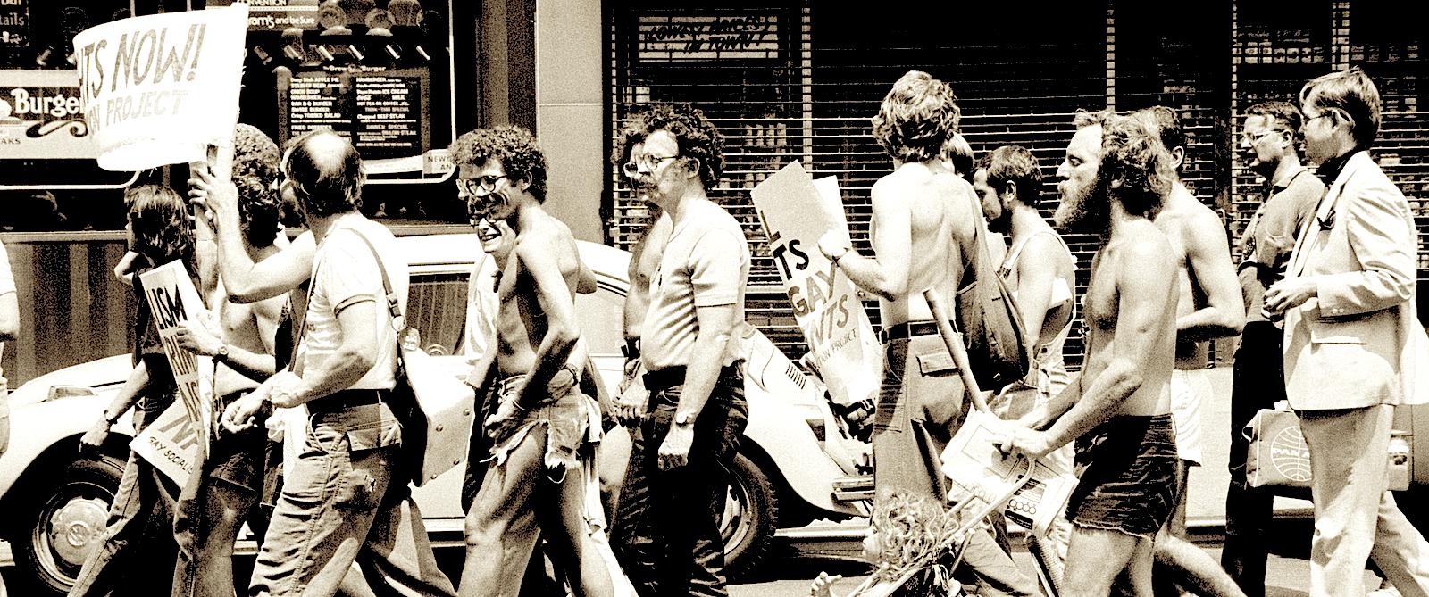 Америка 1976 год, за права гомосексуалов