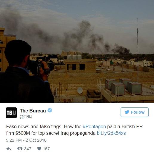 Wartawan Dedah Pentagon Buat Video Palsu Pengganas Di Iraq, Al-Qaeda