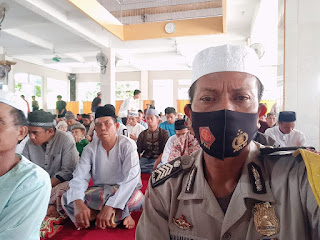 Pasca Pilkada, Kepala Desa Kabba Bersama Bhabinkamtibmas Berikan Pesan Kamtibmas