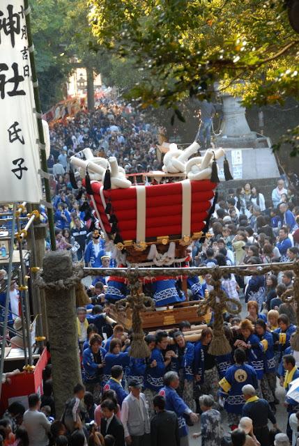 Hiraoka Matsuri (Autumn Ritual at Hiraoka Jinaja Shrine), Higashi-Osaka City, Osaka