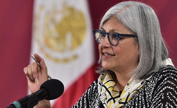 La secretaria de Economía, Graciela Márquez, justificó ayer el retraso en la reactivación de las cadenas de valor con Estados Unidos al argumentar que la llegada del COVID-19 fue posterior en México que en los otros países. (Foto: SE)