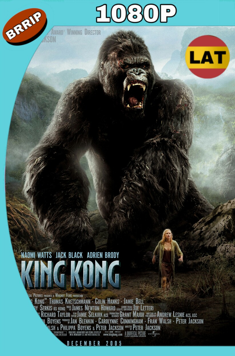 KING KONG (2005) EXTENDIDO HD BRRIP 1080P LAT-ING MKV