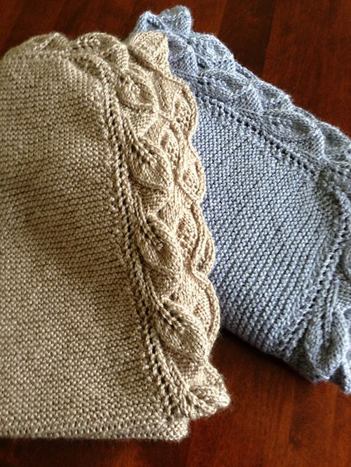 Sproutling Baby Blanket - Free Knitting Pattern
