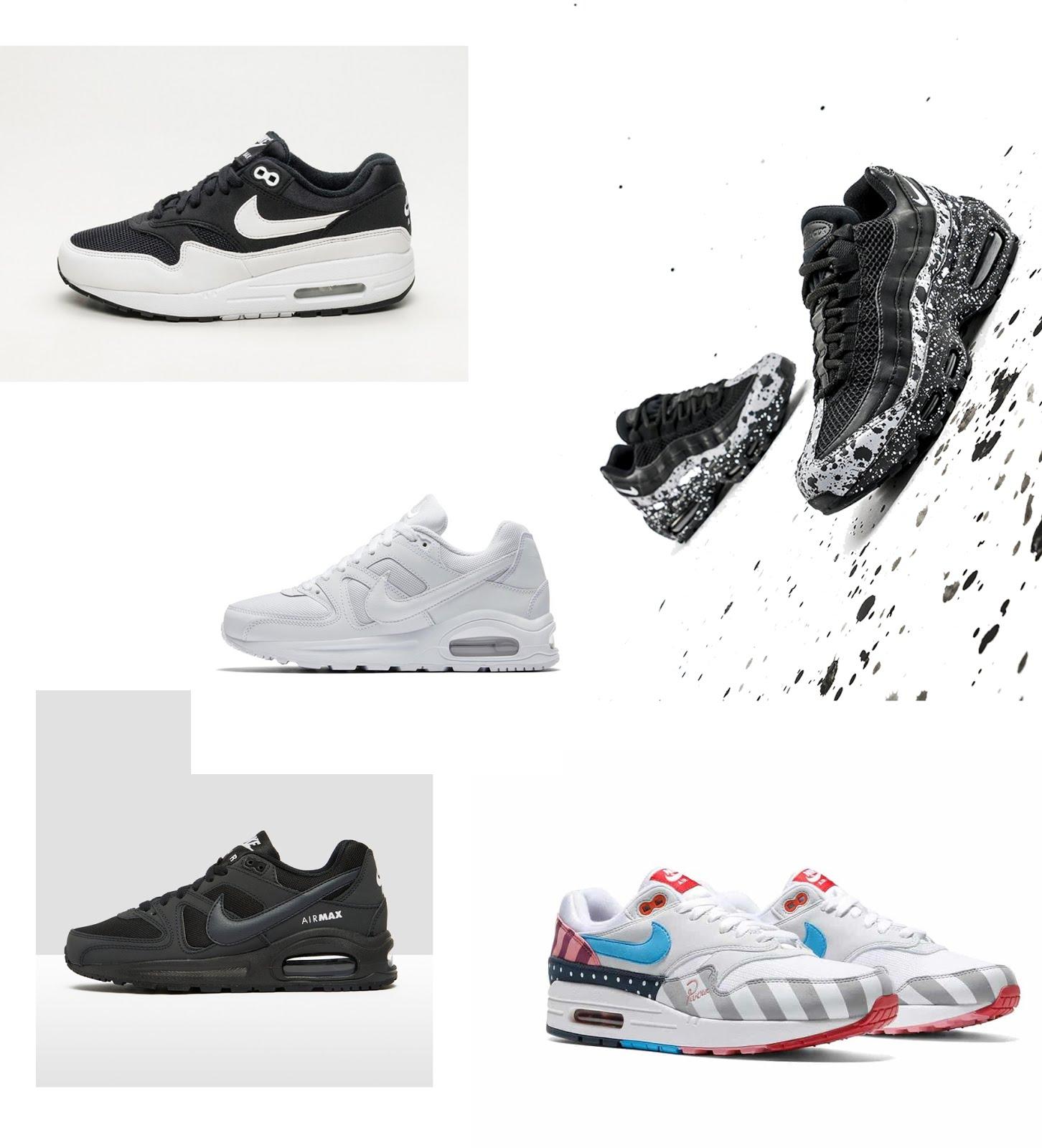 Nike air max, sneakers, sportshowroom, minimal, inspiration, nike air max command, nike air max 1, nike air max 95