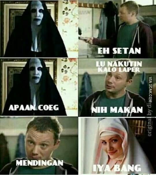 Meme Conjuring 2, Meme Valak