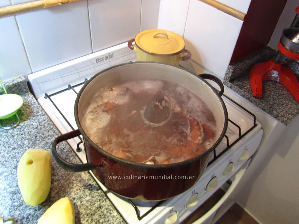 Receta de pulpo español