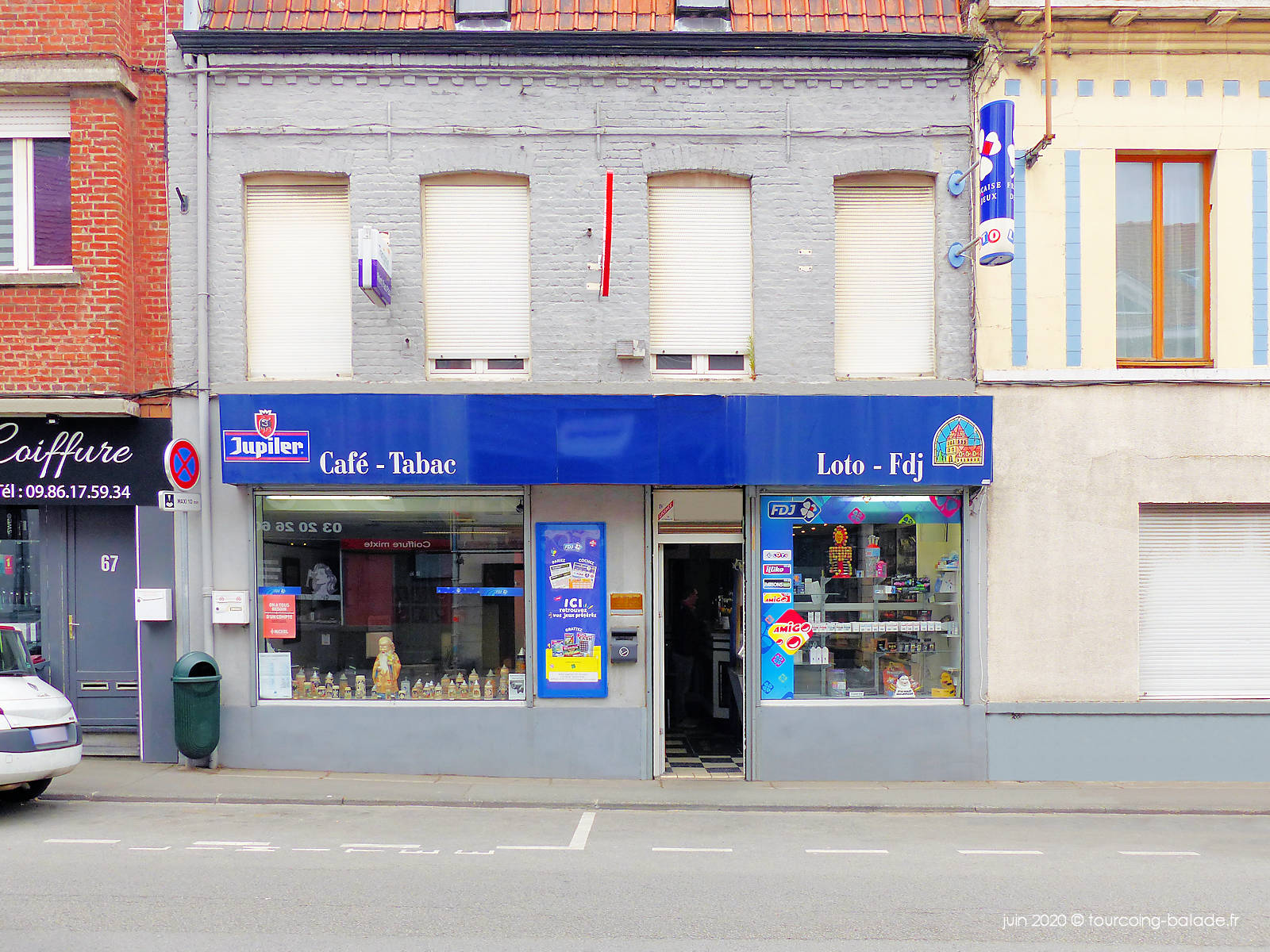 Bar Tabac Au Blanc Seau, Tourcoing 2020