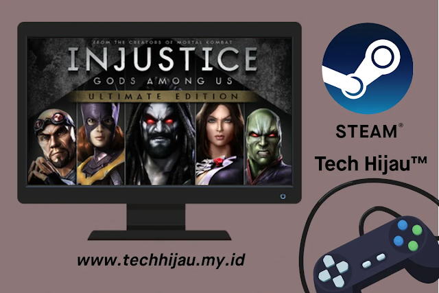 Game Injustice: Gods Among Us Ultimate Edition Gratis di Steam