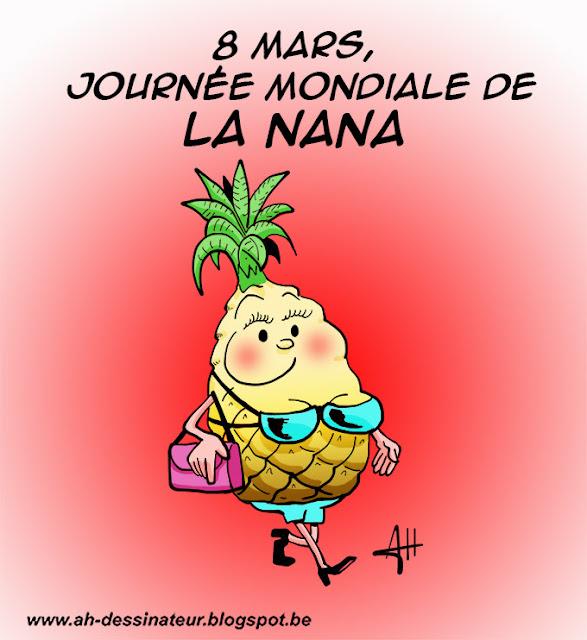 ananas, dessin