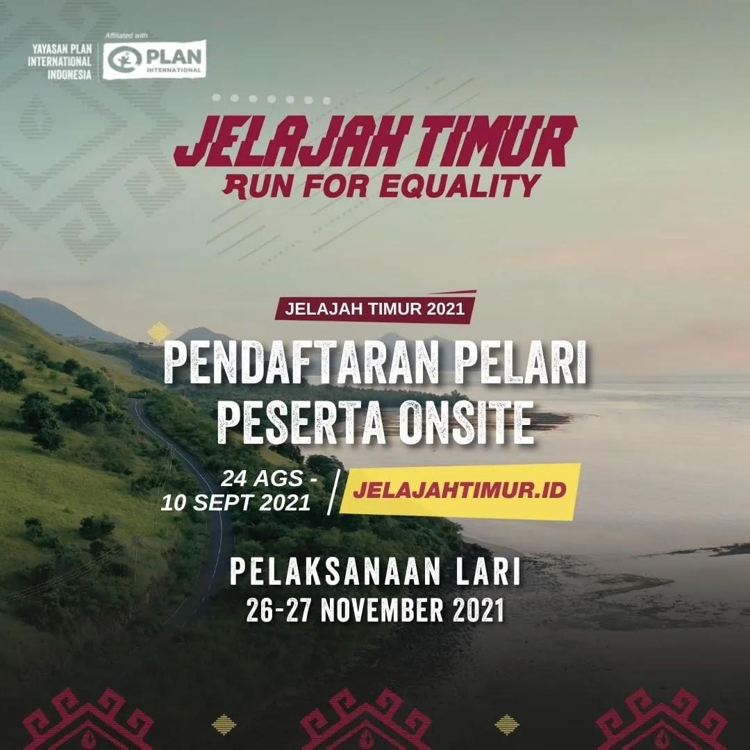 Jelajah Timur - Run for Equality • 2021