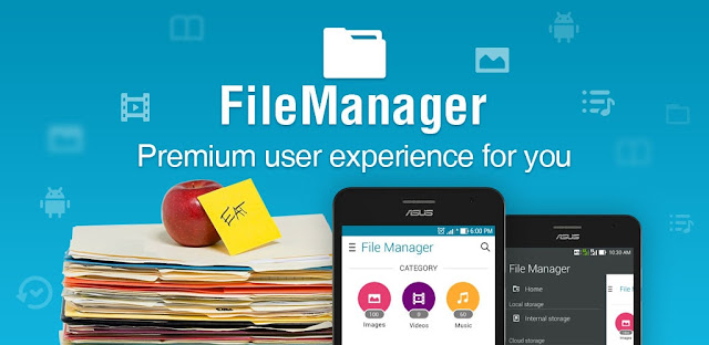 ASUS File Manager للأندرويد