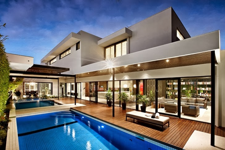 World Of Architecture Beautiful Modern Backyard By Cos Design