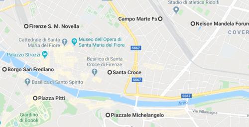 mappa quartieri firenze