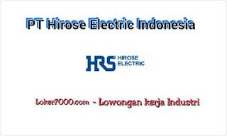 Lowongan Kerja PT Hirose Electric Indonesia Cikarang Oktober 2019