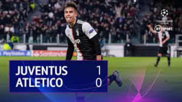 Juventus 1 - 0 Atletico Madrid champions league highlight