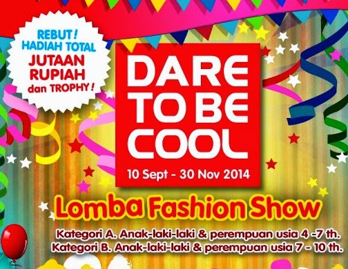 Lomba Fashion Show Anak Dare To Be Cool