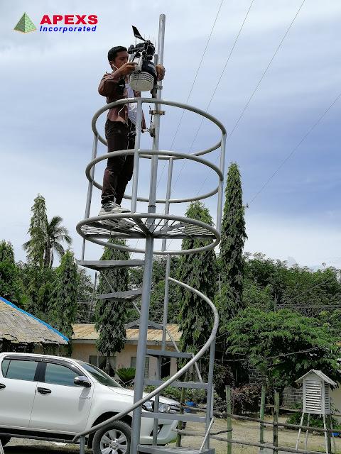 APEXS:  2019 Dole Philippines (Stanfilco Division) weather station maintenance schedule
