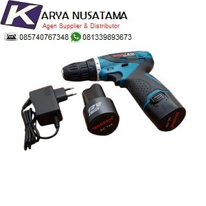 Jual Cordless Bor 12V Bor Tembok 12 Volt 10mm Merk H&L di Sulawesi