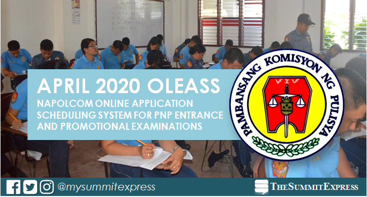 GUIDE: NAPOLCOM online application OLEASS April 2020