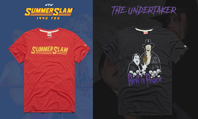 WWE SummerSlam 1992 T-Shirt Collection by Homage
