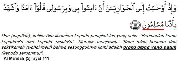 Al-Ma'idah (5); ayat 111