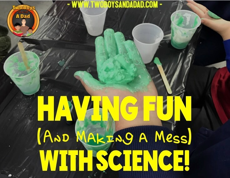 Hands-on science activity with chemical reactions