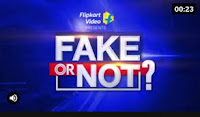 Flipkart Fake Or Not Quiz Answers 04-Feb-2021