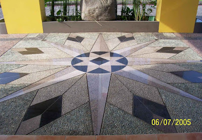 Gambar Foto Batu Sikat Motif Bintang