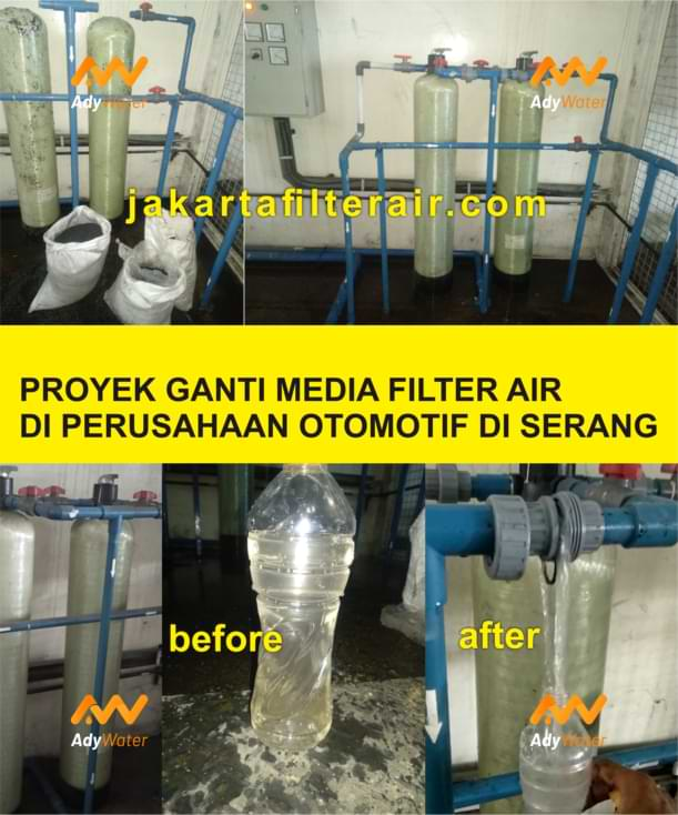 jasa ganti media filter air