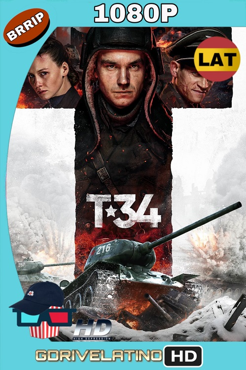 T-34 (2018) BRRip 1080p Latino-Ingles MKV