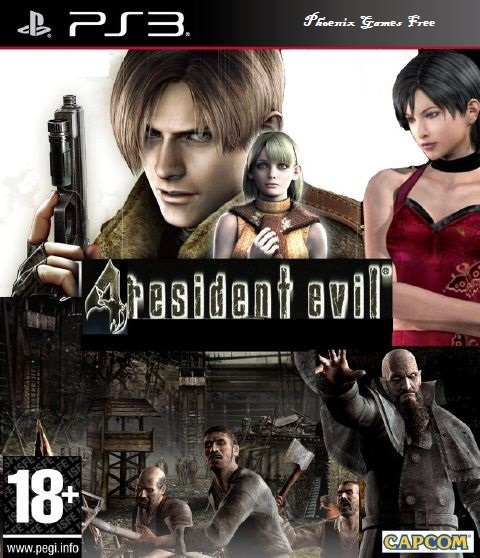 Phoenix Games Free: Download Resident Evil 4 HD PS3 [NPEB00342