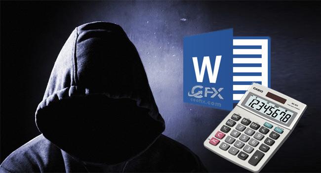 Microsoft Word'de Gizli Olan Hesap Makinesini Aktif Et -www.ceofix.com