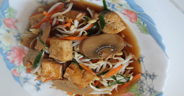 Tofu And Mushroom Recipe