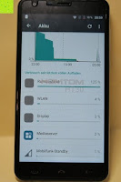 "Übersicht Akku Verbrauch: HOMTOM HT30 3G Smartphone 5.5""Android 6.0 MT6580 Quad Core 1.3GHz Mobile Phone 1GB RAM 8GB ROM Smart Gestures Wake Gestures Dual SIM OTA GPS WIFI,Weiß"