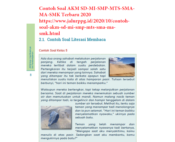 Latihan soal akm asesmen kompetensi minimum mapel kimia sma. Contoh Soal Akm Sd Mi Smp Mts Sma Ma Smk Terbaru 2020 Jalurppg Id