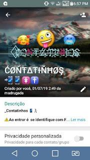 Contatinhos - Grupos de WhatsApp