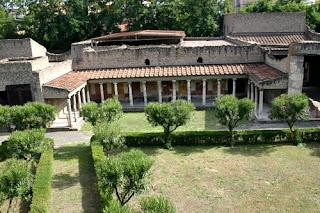 Villa rústica típica de los romanos, cercana a Pompeya.