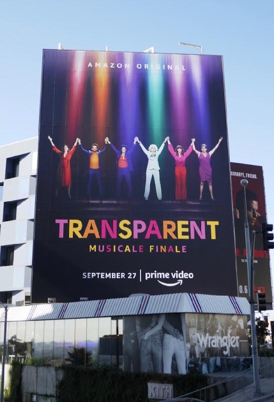 Giant Transparent musicale finale billboard