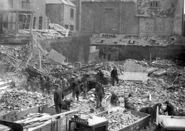 Result of the Luftwaffe attack on Lowestoft on 13 January 1942 worldwartwo.filminspector.com