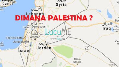 Google Hapus Palestina di Peta Dunia Ini Memicu Kemarahan Netizen