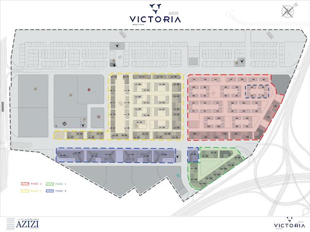 azizi victoria Master map
