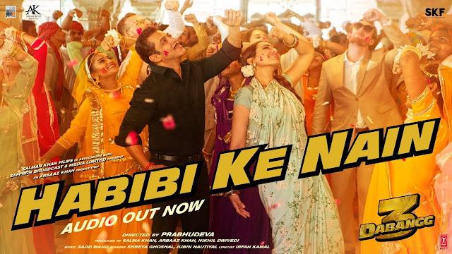 Habibi Ke Nain Lyrics In Hindi