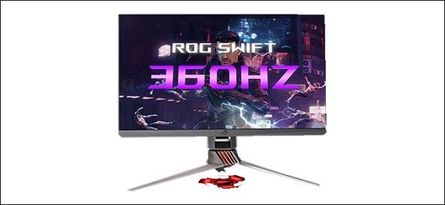 آسوس ROG سويفت 360Hz الألعاب مراقب