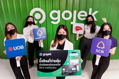 Gojek เปิดตัวฟีเจอร์บัตรเครดิต/เดบิต เพิ่มทางเลือกในการชำระเงินบริการ GoFood  พร้อมจับมือธนาคารชั้นนำเพื่อมอบสิทธิประโยชน์มากมายแก่ผู้ใช้บริการ
