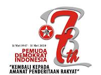 """""""Doktrin Ampera"""" Bung Karno Menggema di HUT-73 Ormas Pemuda Demokrat Indonesia"""