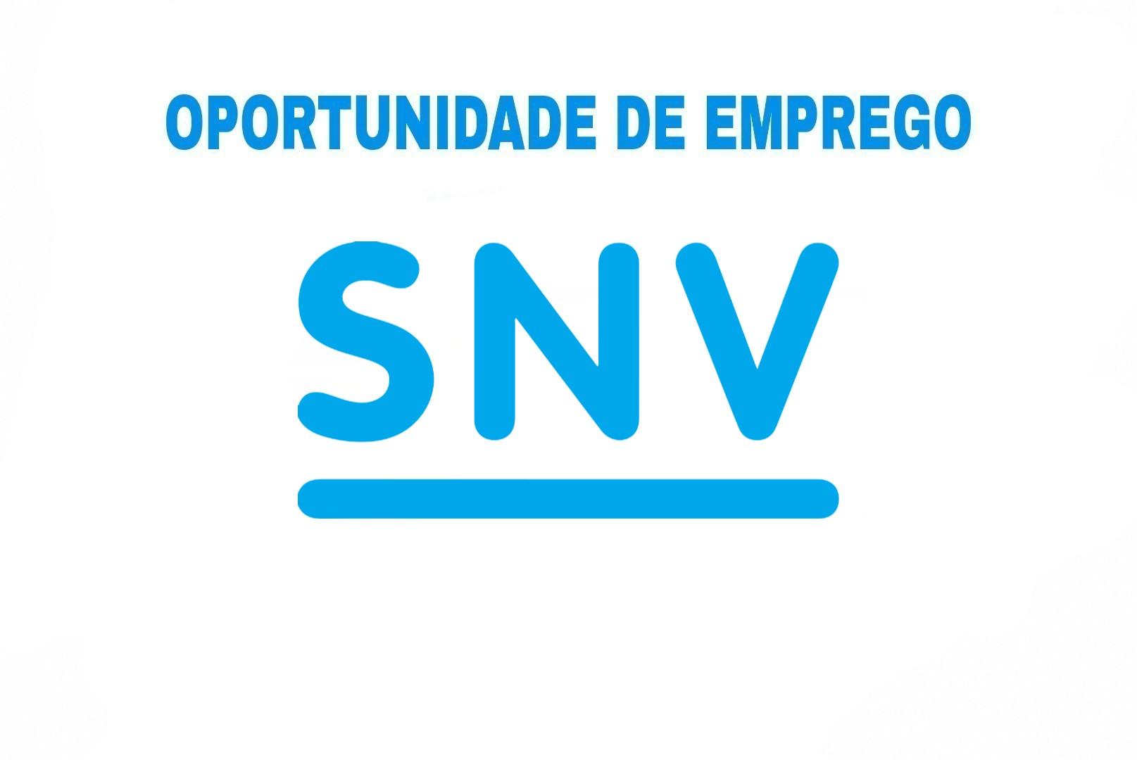 Sovagasmoz _ SNV Moçambique _Emprego