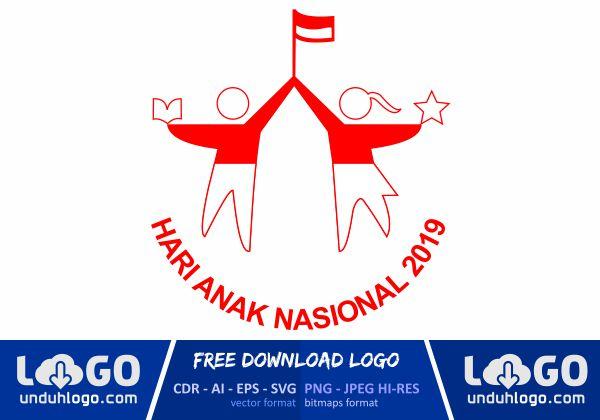 Logo Hari Anak Nasional 2019