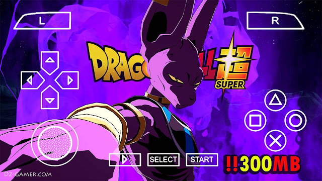 Download Dragon Ball Z TTT Mod PPSSPP Android From Mediafire