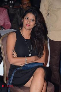 Telugu Tollywood Actress Shravya Reddy Stills in Black Short Dress at Shiva to Vangaveeti RGV Journey Event  0001.jpg